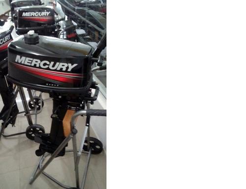 motor mercury 5 hp 2 tempos zero!