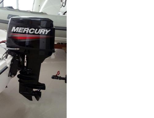 motor mercury 50 hp 2 tempos com trim zero!