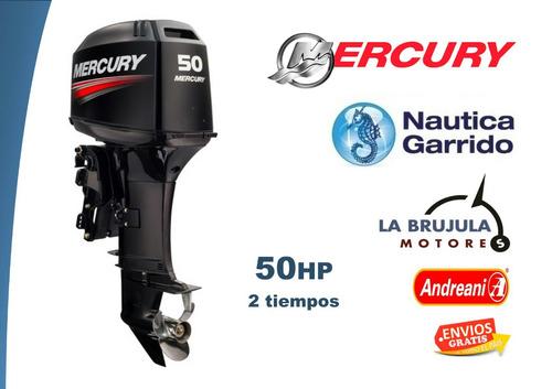 motor mercury 50 hp elpto. 2t. consultar precio de contado.