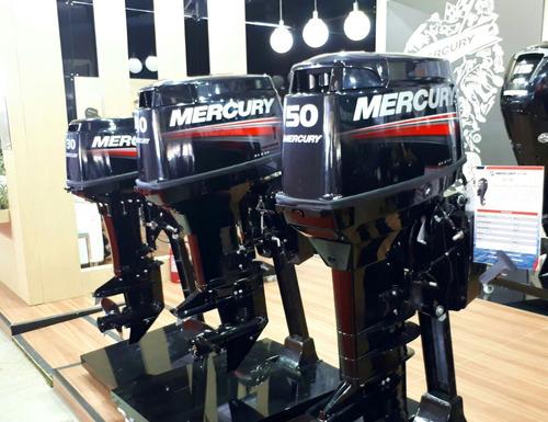 motor mercury 50hp elpto 2 tempos comandoa  distancia