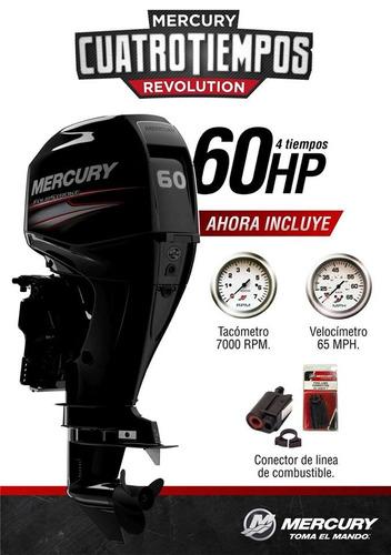 motor mercury 60 hp elpt 4s efi 4t quilmes!