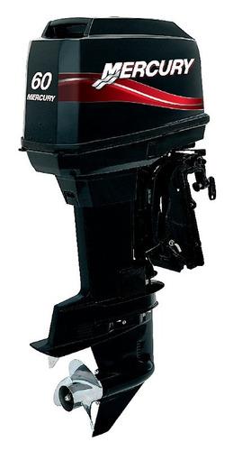 motor mercury 60 hp elpto 2 tempos carburado poddium náutica