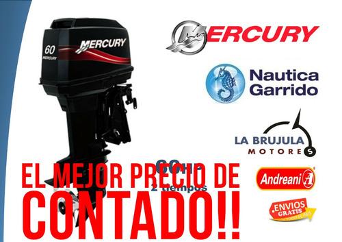 motor mercury 60 hp elpto. consultar precios de contado.