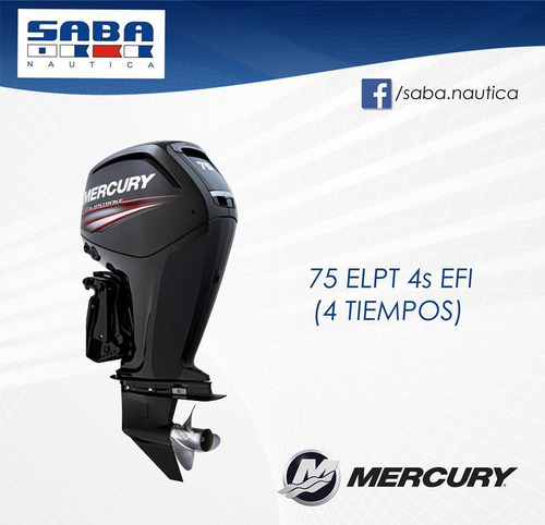 motor mercury  75 4t
