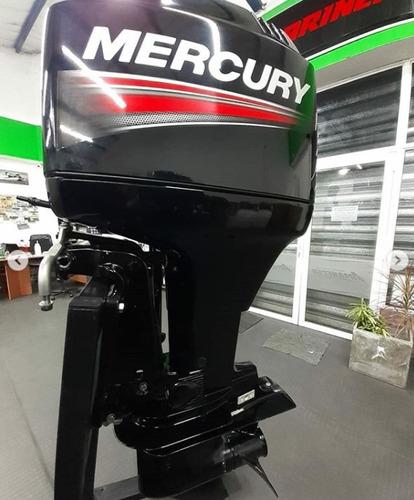 motor mercury 75 hp, 2 tiempos - usado