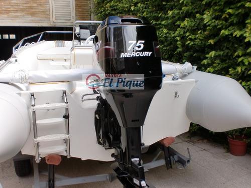 motor mercury 75 hp elpto 2t 0 km. consulta promociones!!!