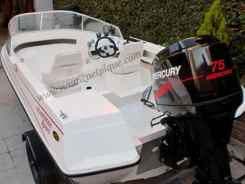motor mercury 75 hp elpto 2t 0 km. quilmes!!!
