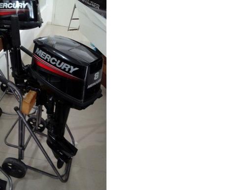 motor mercury 8 hp 2 tempos zero!
