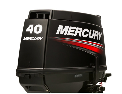 motor mercury fuera borda 40 hp comandos arranque trim