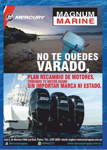 motor mercury fuera borda 5hp 2 tiempos garantia tanque