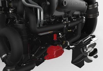 motor mercury mercruiser 6,2l 350 hp dts bravo 3  zero 2019
