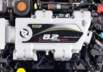 motor mercury mercruiser 8,2l 380 hp bravo 3x  zero 2019