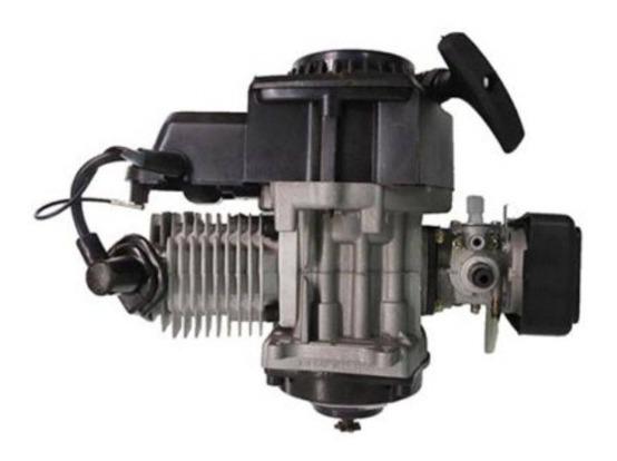 Motor Mini Moto 49cc 2t Cross Speed Quadriciclo