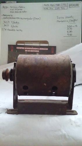 motor monofasico 1/3 hp con polea