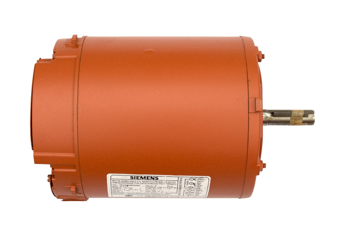 0f2ff77c60e Motor Monofasico Marca Siemens 1 Hp 4 Polos 1800 Rpm -   1