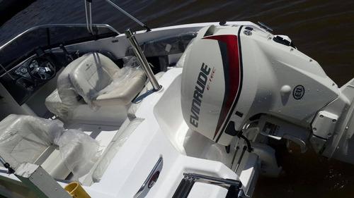 motor nautico fuera de borda evinrude e-tec 115 hp 2017 0km