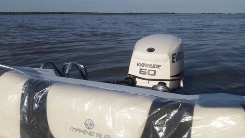 motor nautico fuera de borda evinrude e-tec 40-50-60 hp 0km