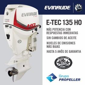 Motor Nautico Fuera De Borda Evinrude Etec 135 Ho Hp 0km