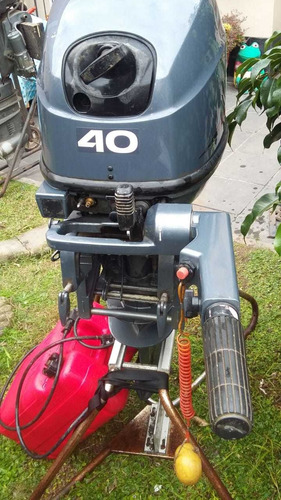 motor náutico yamaha 40 hp 2 tiempos pocas horas pata corta
