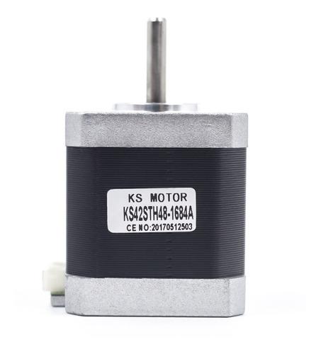 motor nema 17 alto torque 1.8 cnc impresora 3d 48 mm