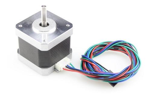 motor nema 17 torque 1.8° 1.7a 0.36nm impresora 3d