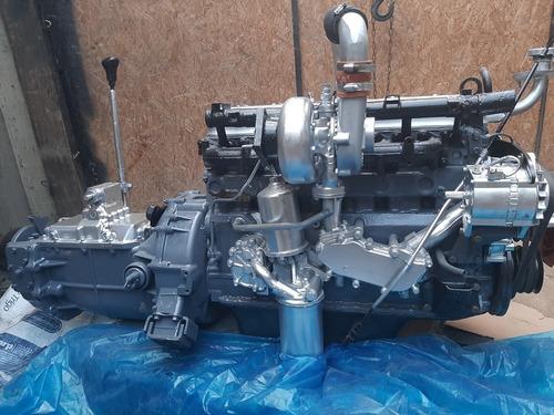 motor nissan fd6- 175 6 cilindros turbo+ caja 6ta y retro