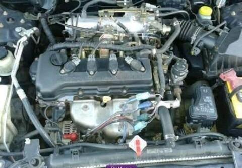 Motor Nissan Sentra 2001 1.8 - $ 14,000.00 en Mercado Libre