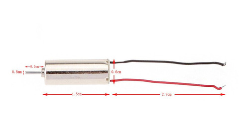 motor original drone eachine h8 mini h8s e010 - 6mm x 15mm