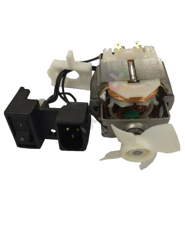 motor original singer dom. embutido interno + polias 110v