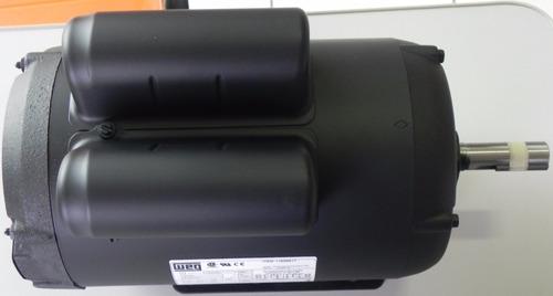 motor para betoneira, 2cv monofásico baixa rotação marca weg
