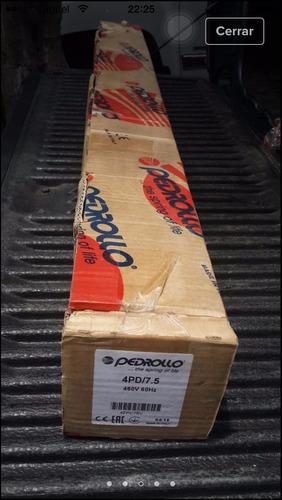 motor para pozo profundo pedrollo 7,5 hp 460 volt. 4  italia