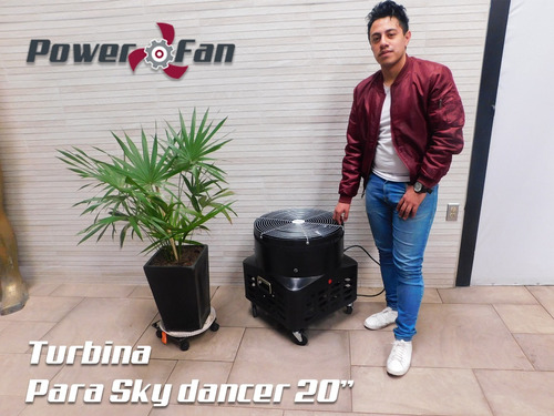 motor para sky dancer turbina power fan 20