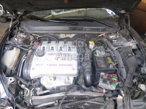 motor parcial alfa romeo 147 2.0 16v 2003 auto amega