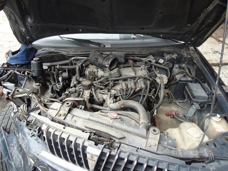 motor parcial c/ cabeçote e pecas pajero sport 3.0 v6 98/99