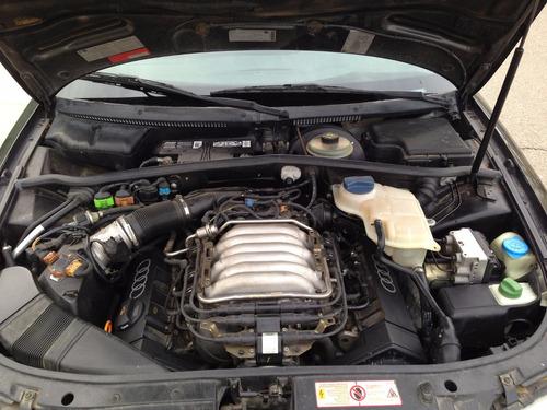 motor parcial completo audi a4 2.8 v6 12v passat alemao