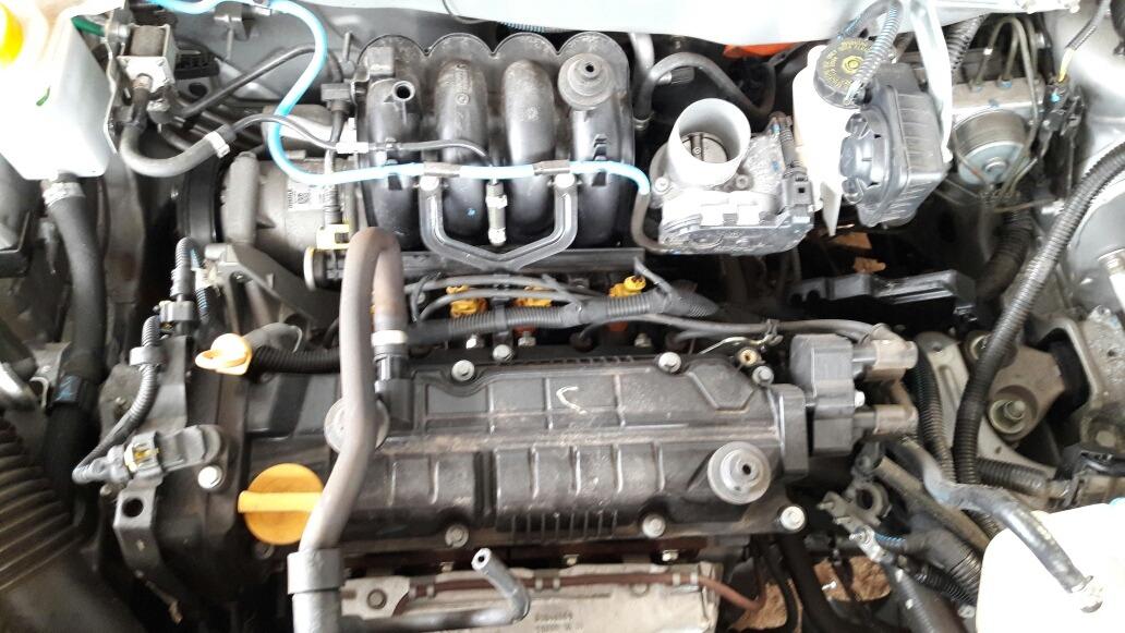 Motor Parcial Fiat Mobi 1 0 2016 Like