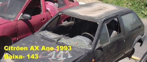 motor parcial na troca citroen ax 1993