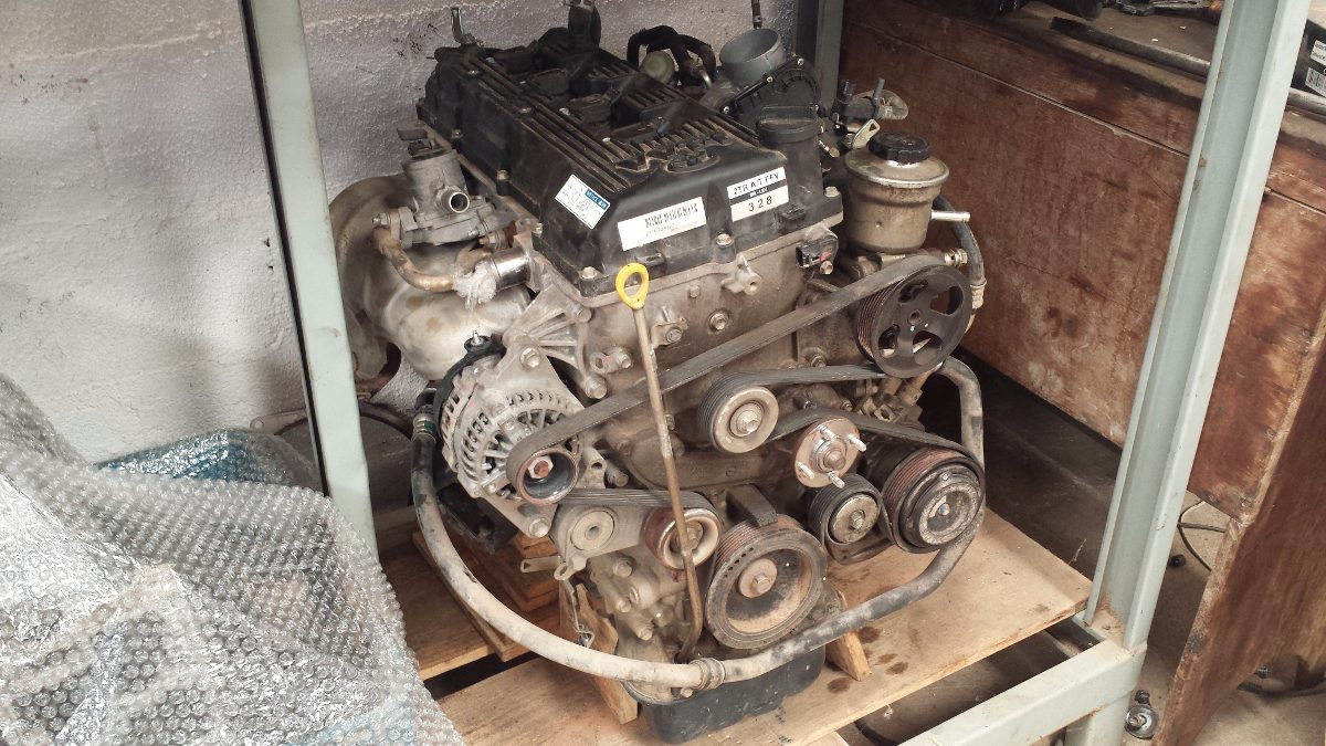 Motor Parcial Toyota Hilux 2 7 Gasolina
