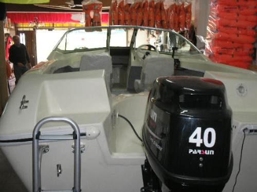 motor parsun  40 hp electrico 2t p/l  nautica gral paz