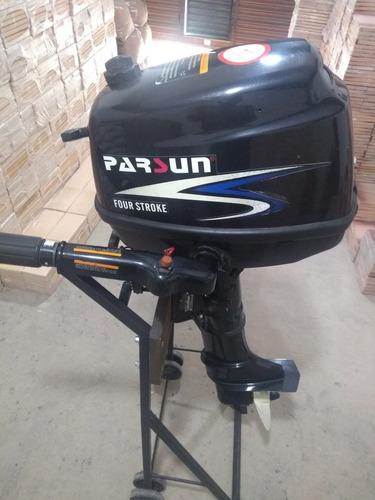 motor parsun 5 hp pata corta impecalbe como nuevo