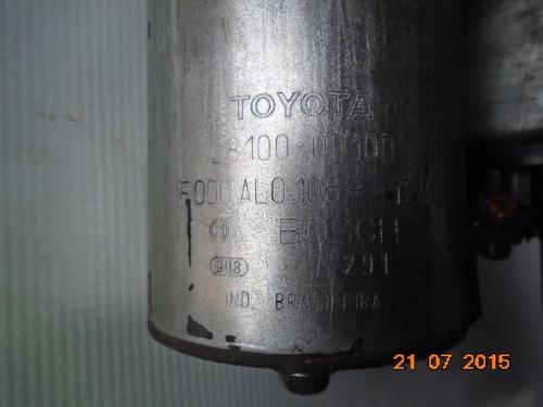 motor partida arranque corolla 1.8 03 04 05 06 07 08