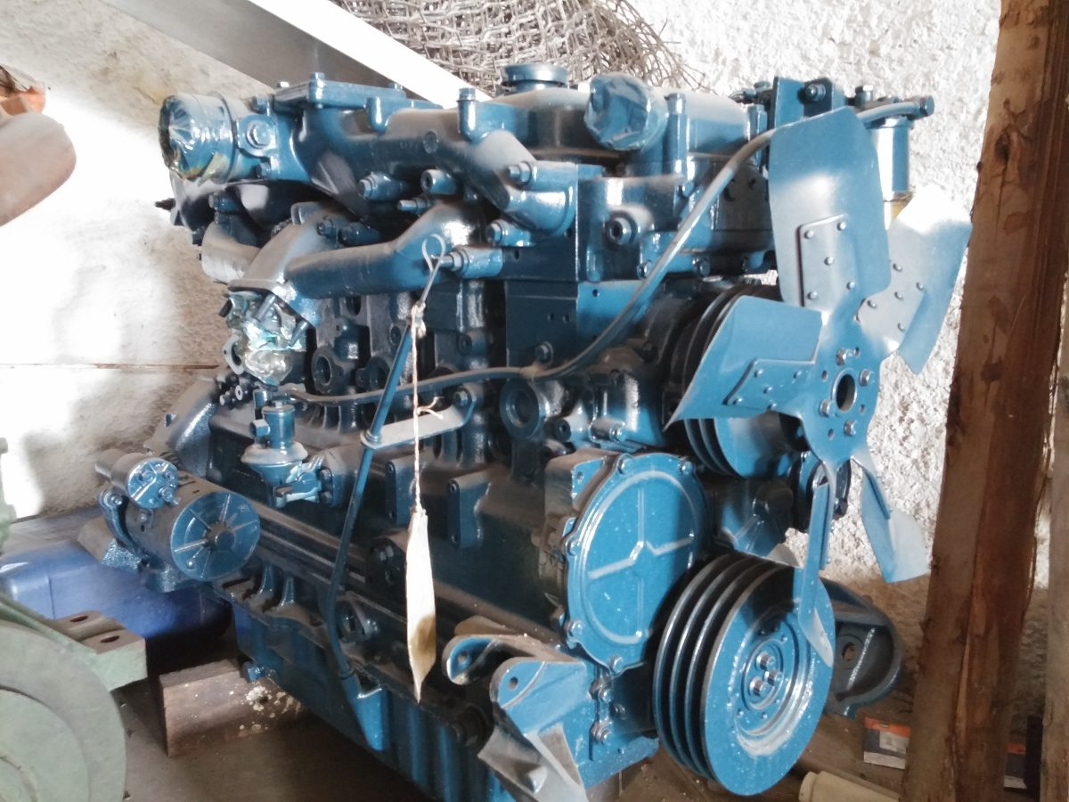 Motor Perkins 6354 Completo - R$ 11.300,00 em Mercado Livre