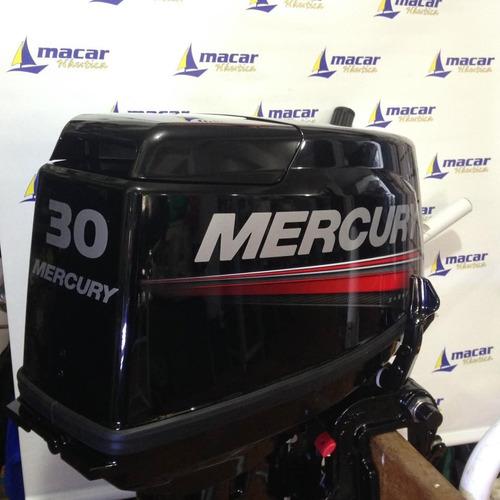 motor popa mercury 30 hp 2 tempos 0km (igual 25hp seapro)