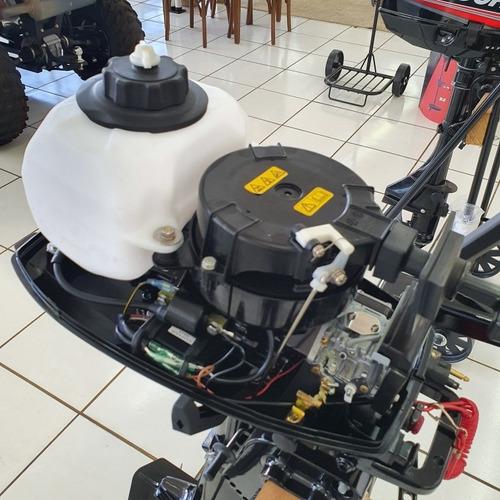 motor popa mercury 5 hp 2 tempos carburado 0km na caixa