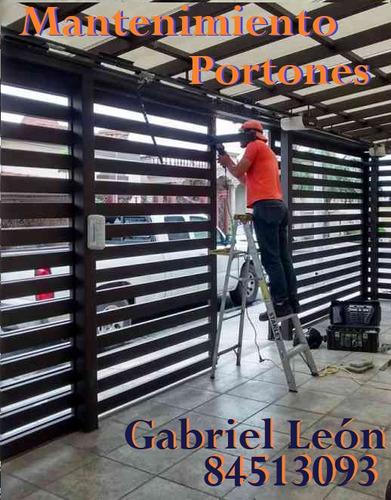 motor portón servicios mantenimiento e instalación