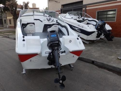 motor power tec 40 hp arranque y power trim electrico full 1