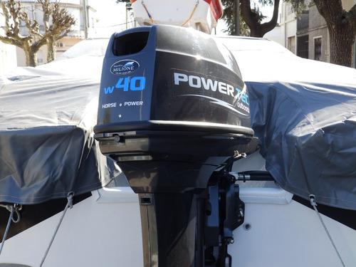 motor power tec 9,9 hp 4 tiempos ecol. 2020 nautica milione