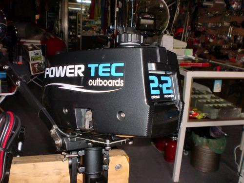 motor powertec 2,2 hp  2 tiempos - quilmes