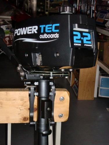 motor powertec 2,2 hp  2 tiempos se paga en pesos!!! quilmes