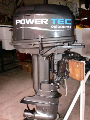 motor powertec 30 hp 2 tiempos - quilmes